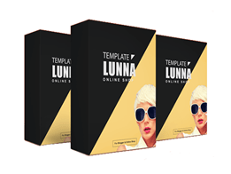Lunna Template Toko Online Blogger Profesional